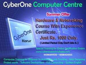 Hardware & networking with experience certificate just rs  1000