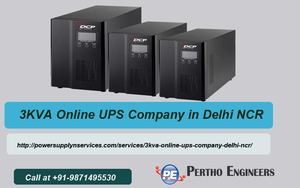 3KVA Online UPS Company in Delhi NCR - Delhi - free
