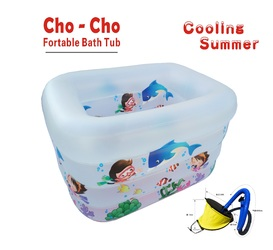 Imported - Portable Kids Bath & Swimming Play Tub Summer Special
