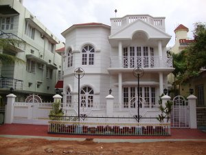 Architecture built duplex 6 bedroom house mysore free for Architecture design for home in mysore
