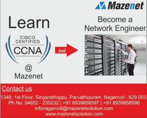 CCNA training MAZENET nagercoil - Nagercoil - free classified ads