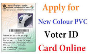 voter id color pvc card printing enrolling project in alipurduar