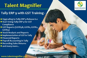 Advance Tally ERP 9 with GST Practical Training Course