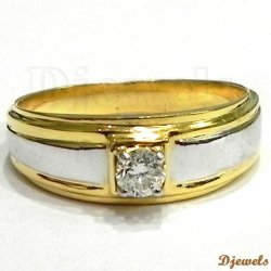 Diamond Engagement / Wedding Ring 14K @ Free Shipping in India - Delhi